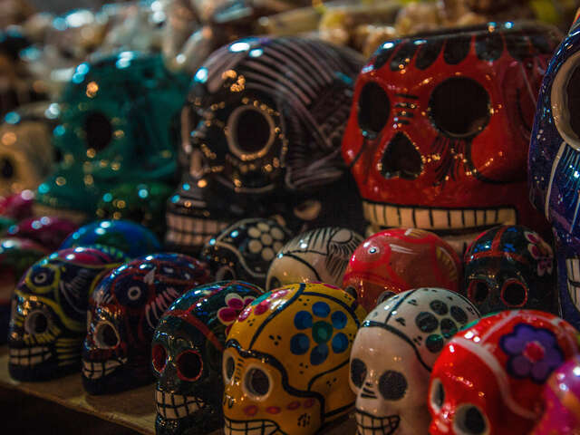 Day of the Dead in Mexico City