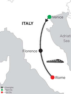 5 Nights Venice, 3 Nights Florence & 2 Nights Rome