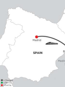 5 Nights Barcelona & 2 Nights Madrid