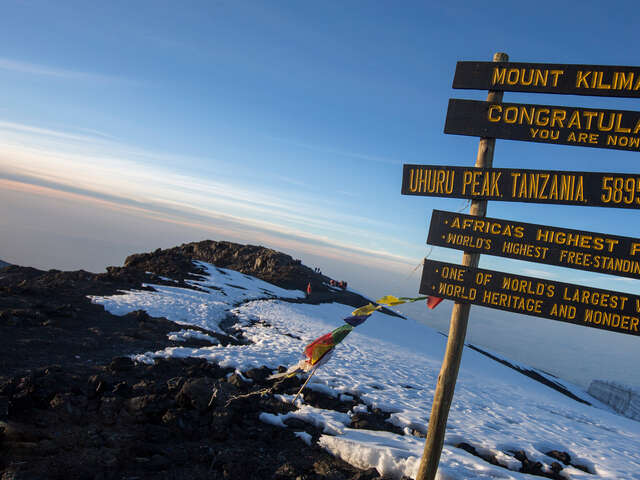 Kilimanjaro - Lemosho Route & Serengeti Adventure