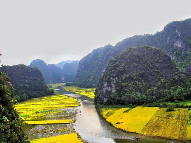 Hanoi Day Tour: Hao Lu and Tam Coc (Ninh Binh) (full day)