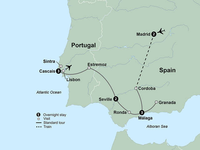 Spain's Costa del Sol & The Portuguese Riviera