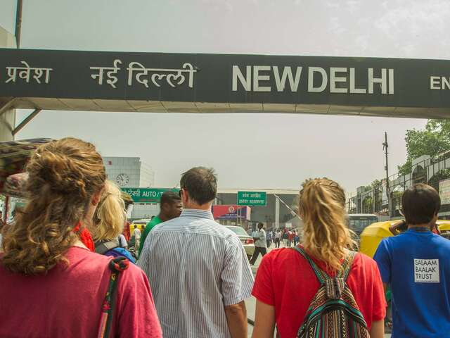 Delhi Day Tour: In Gandhi's Footsteps (half day)