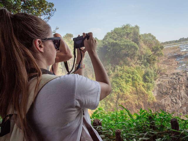 Botswana and Falls Overland: Wildlife Walks & Safari Drives