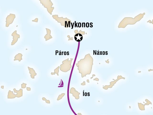 Sailing Greece - Mykonos to Santorini