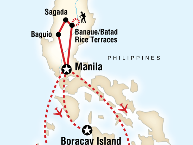 North & South Philippines on a Shoestring