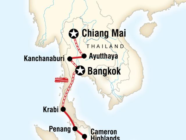Southeast Asia Explorer