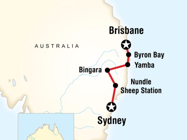 Sydney to Brisbane Experience