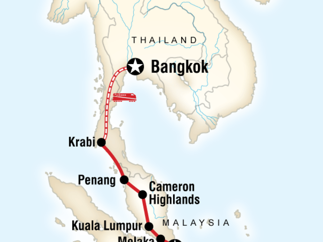 Colours of Asia – Singapore to Bangkok